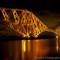 Forth bridges at night - Night photography II