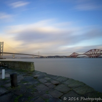 The Forth via wide angle lens